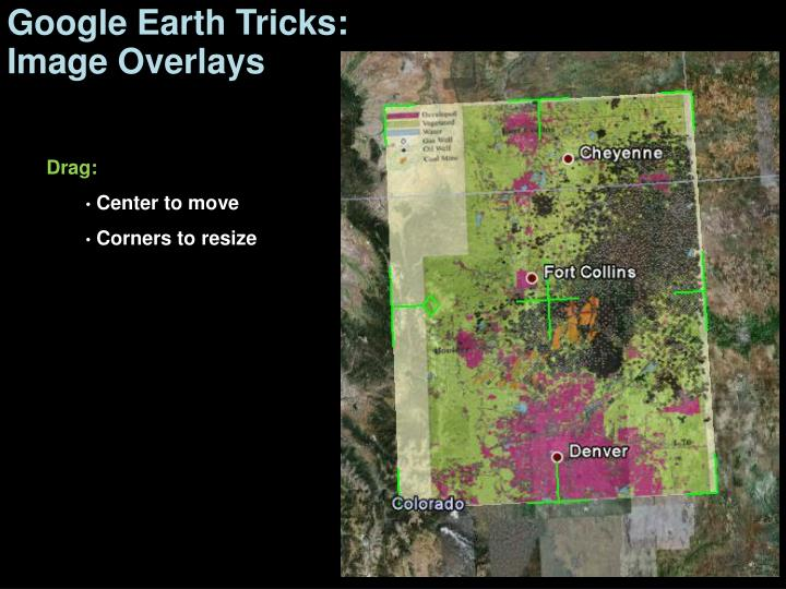 Google Earth Tricks: