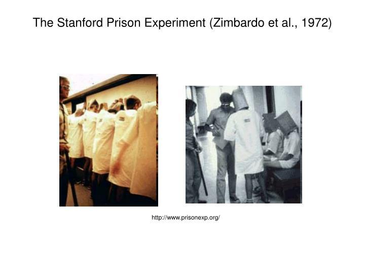 The Stanford Prison Experiment (Zimbardo et al., 1972)