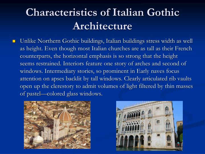 Ppt Gothic Italy Early Renaissance Northern Europe