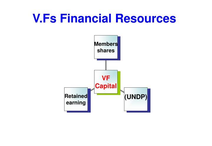 V.Fs Financial Resources