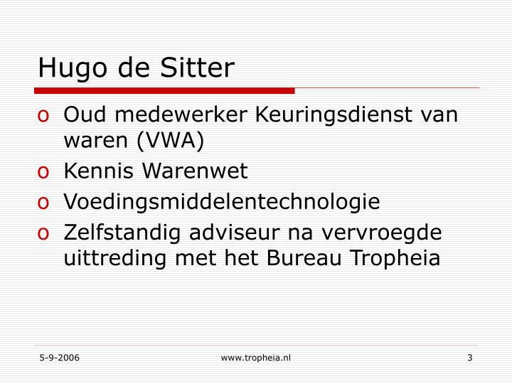 Hugo de Sitter