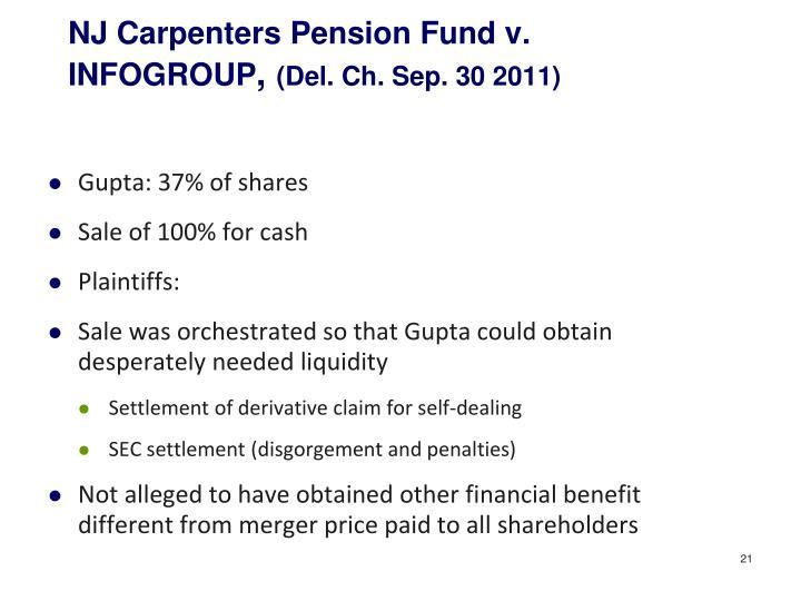 NJ Carpenters Pension Fund