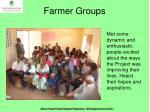 farmer groups