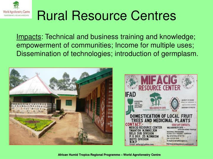 Rural Resource Centres