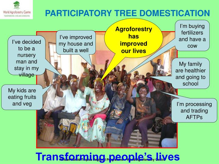 PARTICIPATORY TREE DOMESTICATION