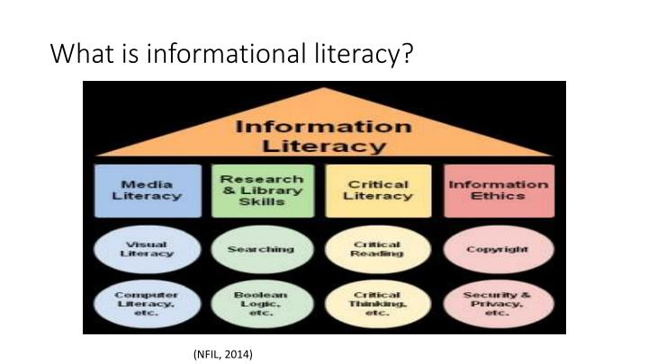 What is informational literacy?