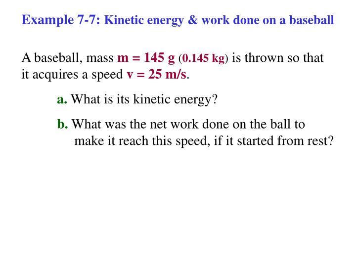 Example 7-7: