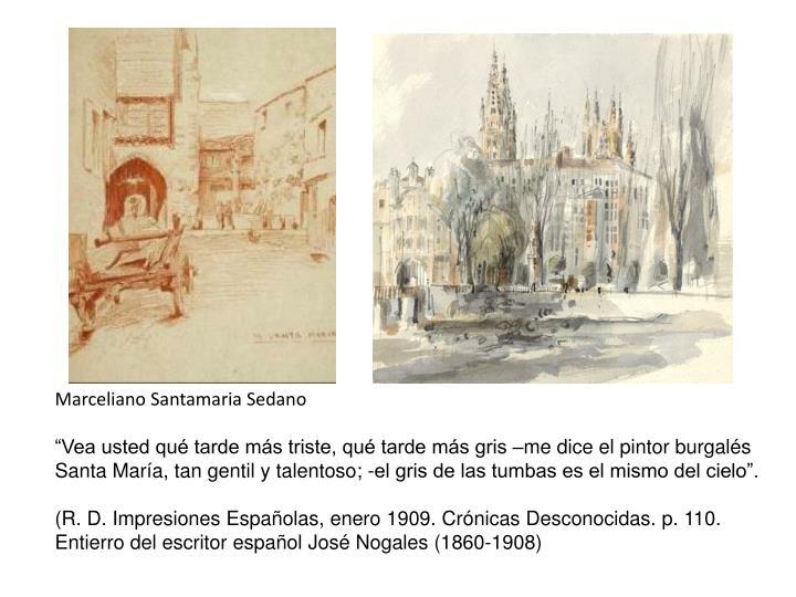 Marceliano Santamaria Sedano