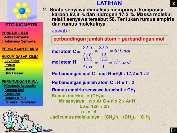mol atom C =