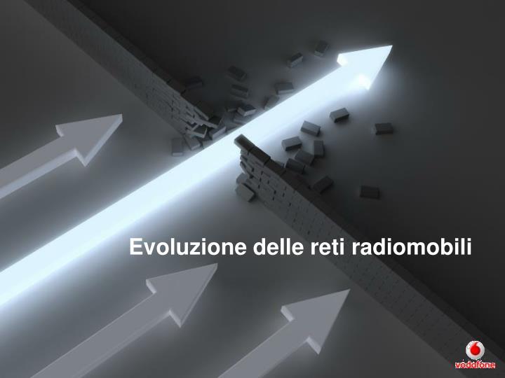 Evoluzione delle reti radiomobili