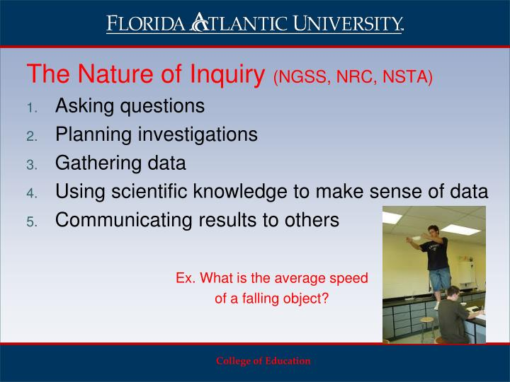 The Nature of Inquiry