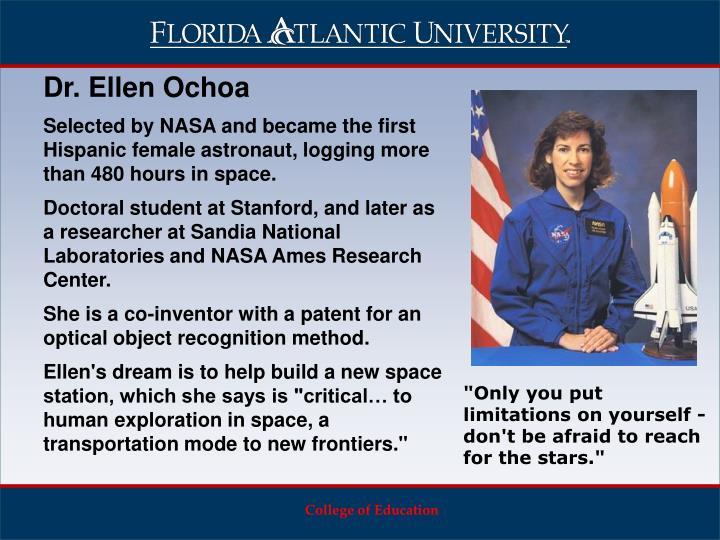 Dr. Ellen Ochoa