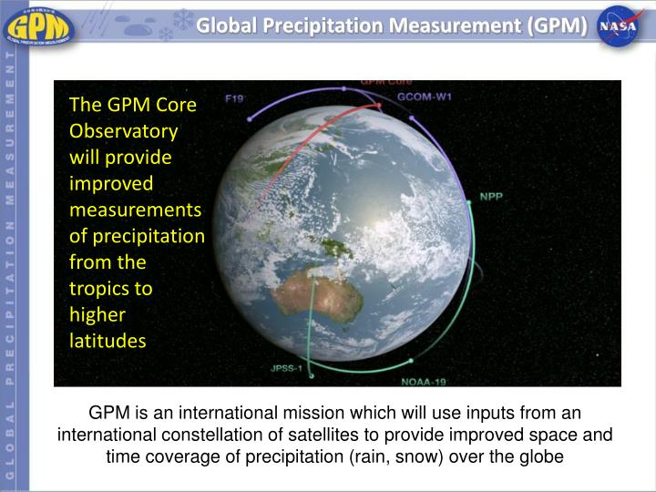 Global Precipitation Measurement (GPM)