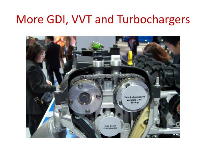 More GDI, VVT and Turbochargers