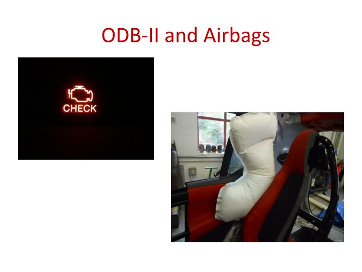 ODB-II and Airbags