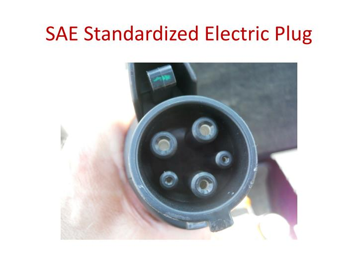 SAE Standardized Electric Plug