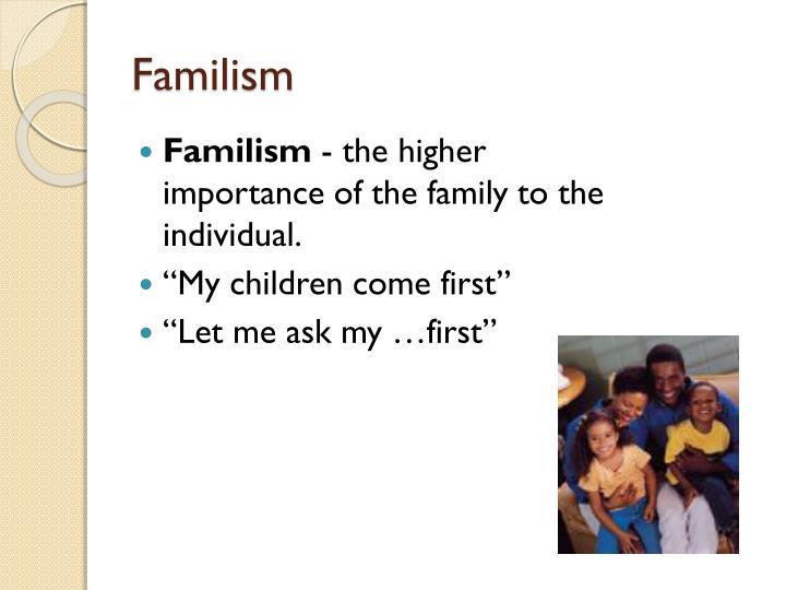 Familism
