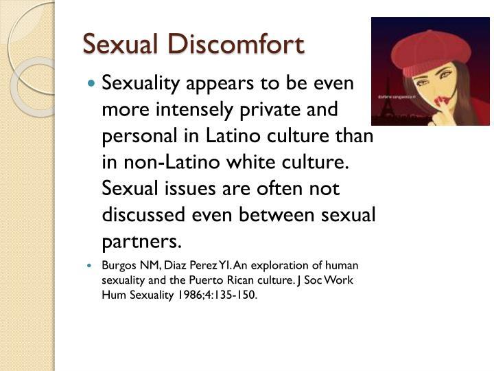 Sexual Discomfort