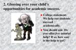 2 glossing over your child s opportunities for academic success