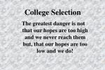 college selection1