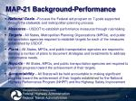 map 21 background performance