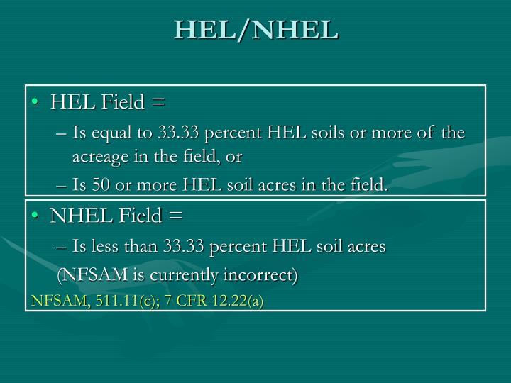 HEL/NHEL