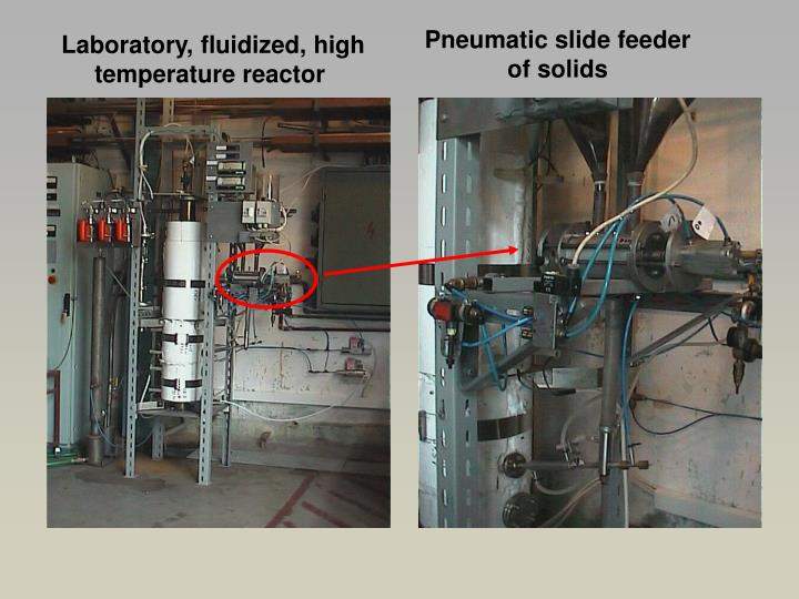 Pneumatic slide feeder