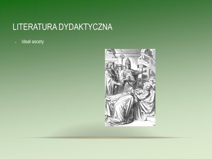 LITERATURA DYDAKTYCZNA