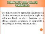 principio del valor cardinal