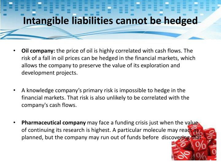 Intangible liabilities cannot be hedged