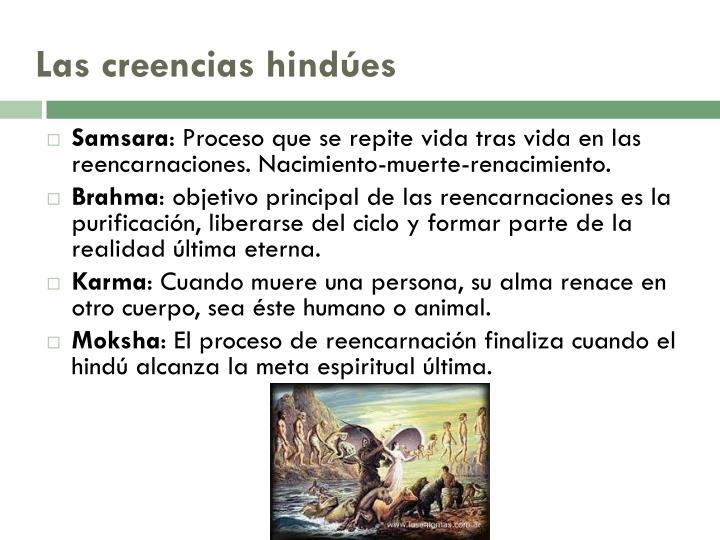 Las creencias hindúes