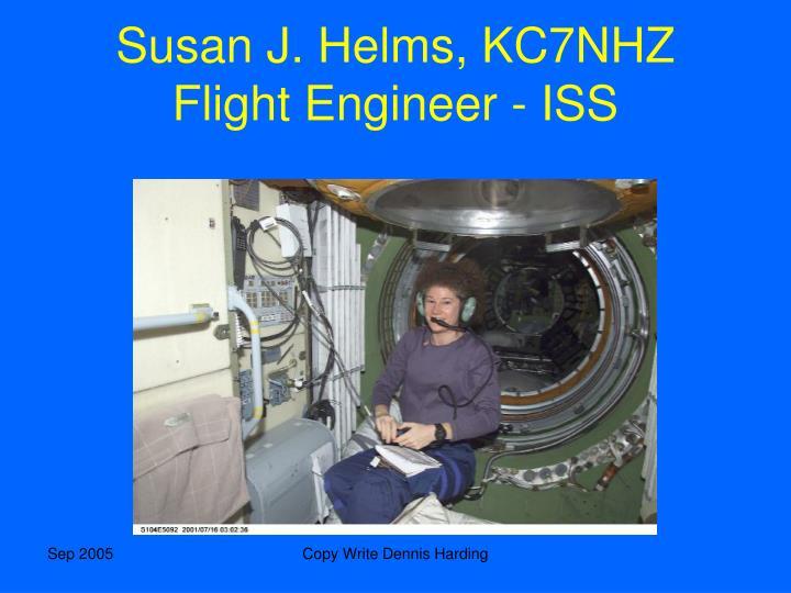 Susan J. Helms, KC7NHZ