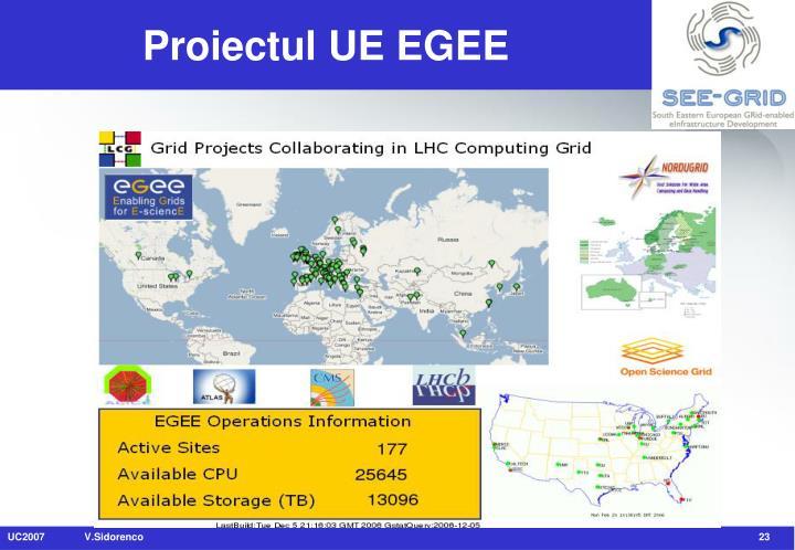 Proiectul UE EGEE