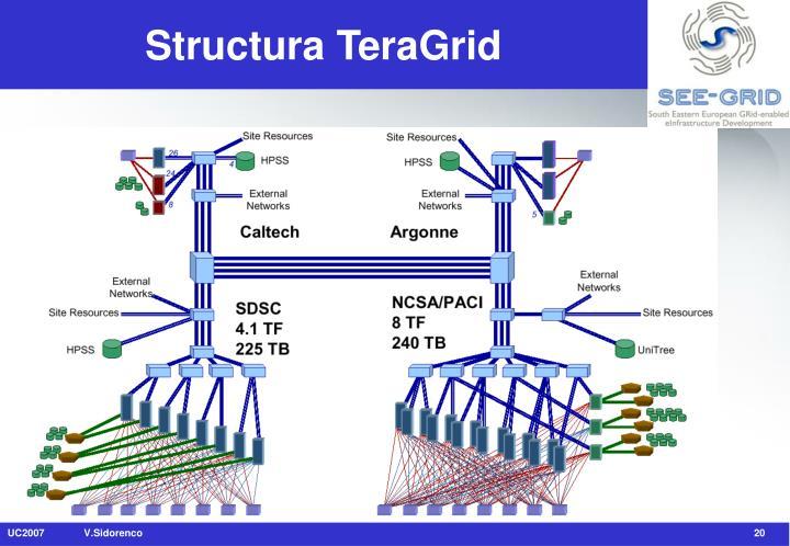 Structura TeraGrid