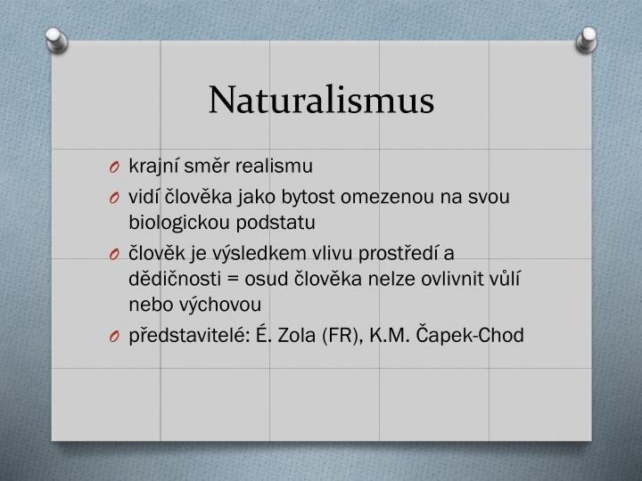 Naturalismus