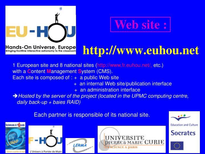Web site :