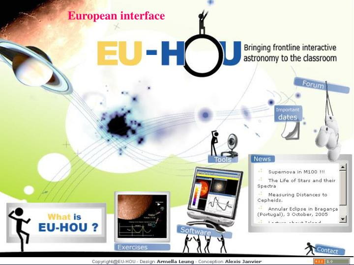 European interface