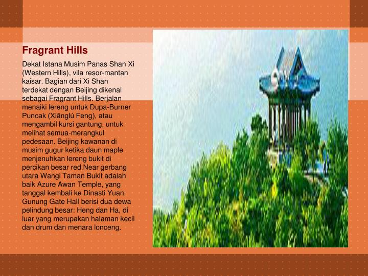 Fragrant Hills