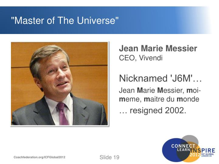 """Master of The Universe"""