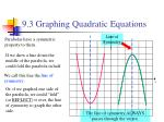9 3 graphing quadratic equations2