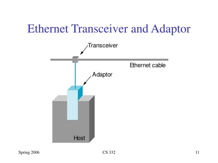 Ethernet Transceiver and Adaptor