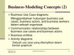 business modeling concepts 2