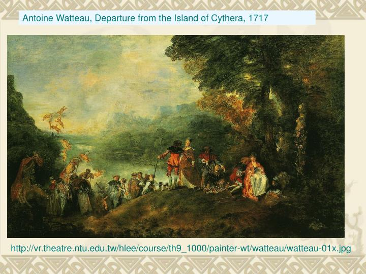 Antoine Watteau, Departure from the Island of Cythera, 1717