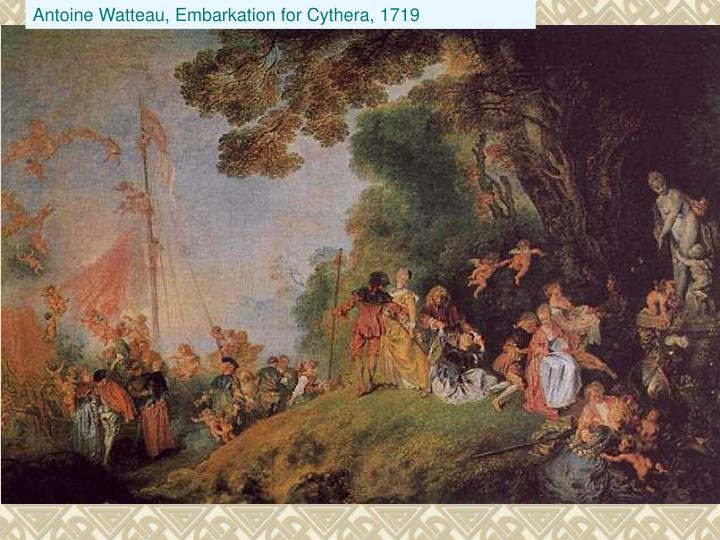 Antoine Watteau, Embarkation for Cythera, 1719