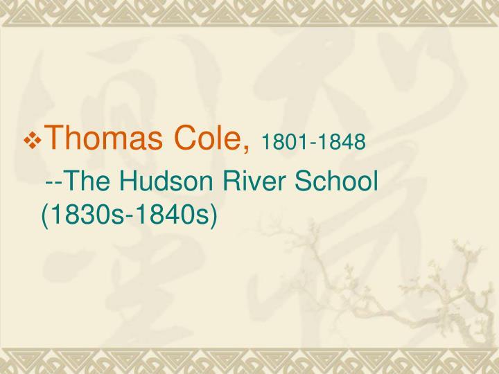 Thomas Cole,