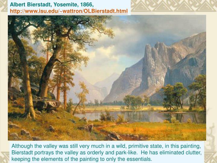 Albert Bierstadt, Yosemite, 1866,