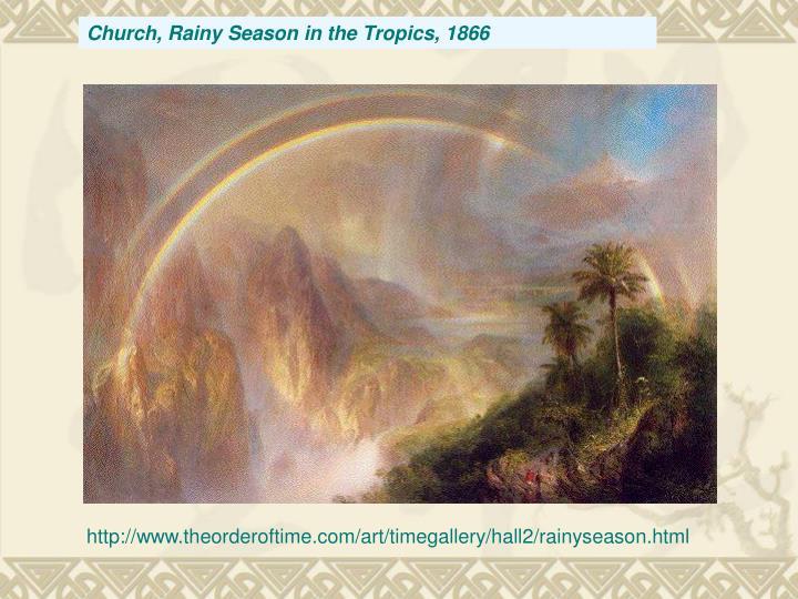 Church, Rainy Season in the Tropics, 1866