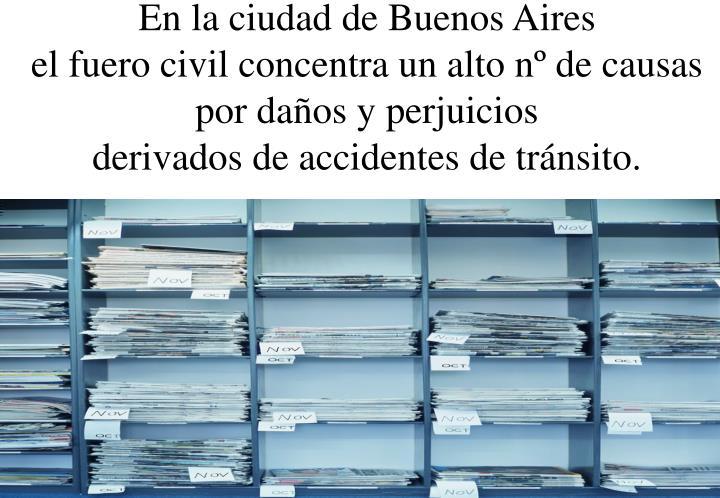 En la ciudad de Buenos Aires