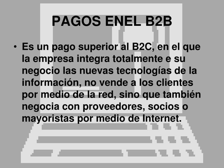 PAGOS ENEL B2B