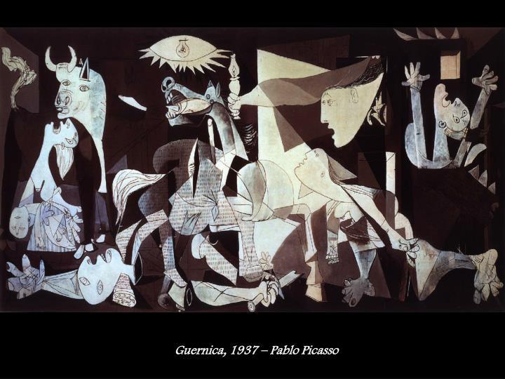 Guernica, 1937 – Pablo Picasso